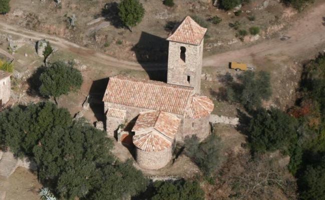 L'église de Sant Miquel de la Miana