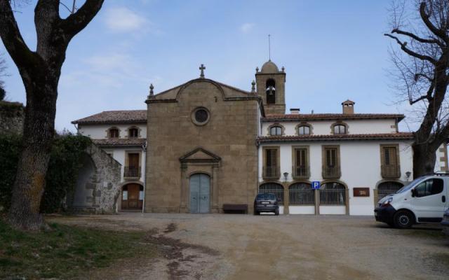 The sanctuary of La Mare de Déu de la Font de la Salut