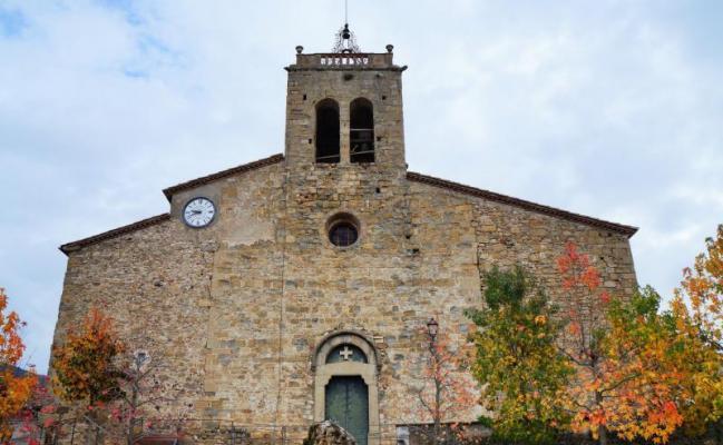 L'église de Sant Esteve d'en Bas