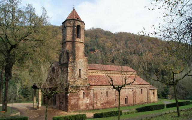 Le monastère de Sant Joan les Fonts