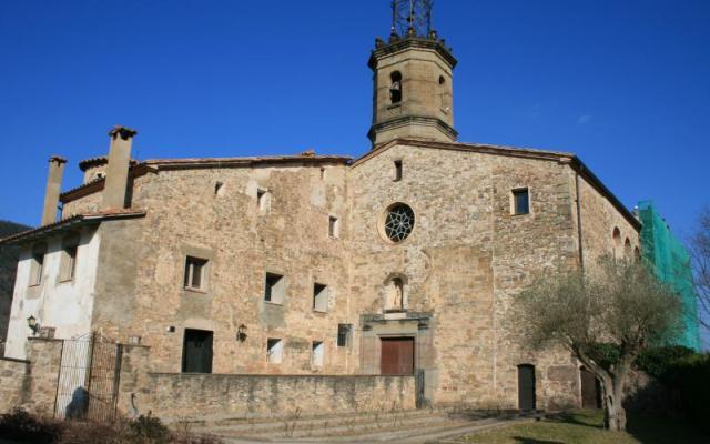 L'église de Santa Maria de Riudaura