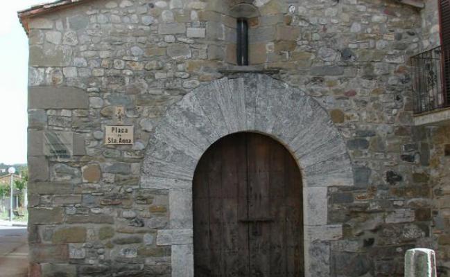 La chapelle de Sainte Anne