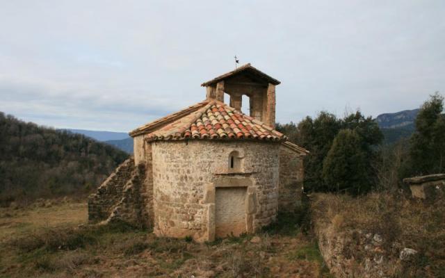 L'église de Santa Maria de Freixe.
