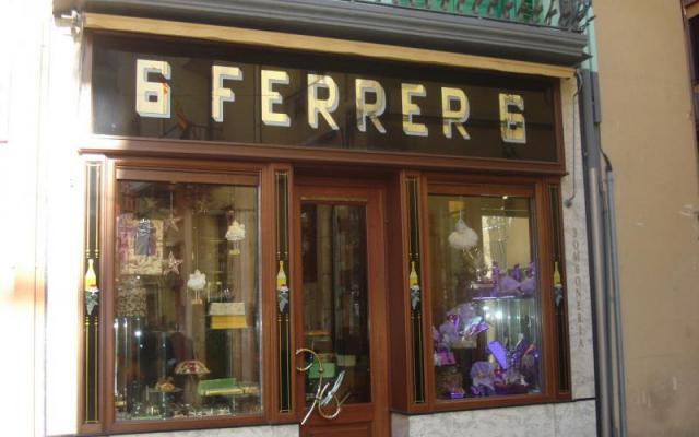 La pâtisserie Ferrer