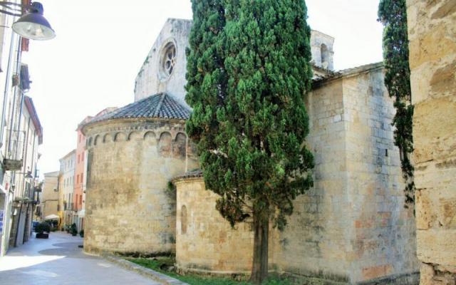 L'église de Sant Vicenç (Saint Vincent)