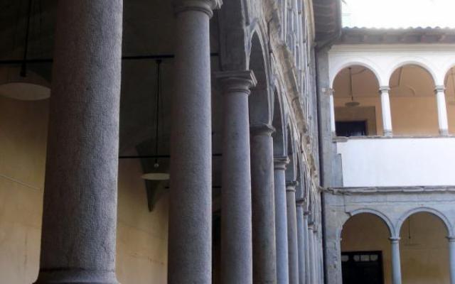 The Carme cloister