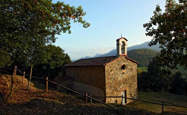 L'église de Santa Llucia de Trenteres