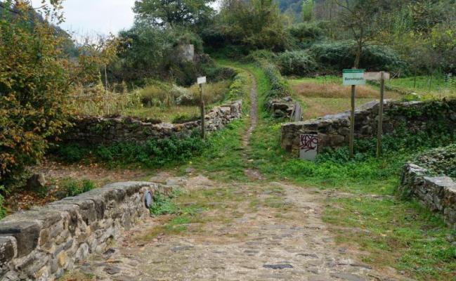 The ancient Roman Road