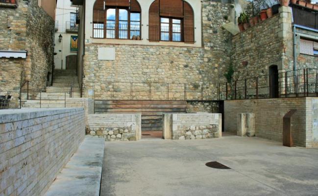 Sinagoga - Plaça dels Jueus