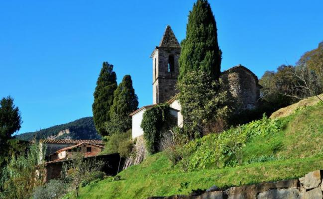 Sant Aniol de Finestres church