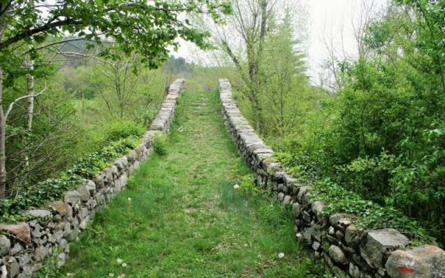 Pont romànic d'Oix